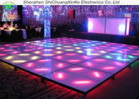 P8.928 full color customised interactive led floor tile screen, interactive dance floor without moire effec