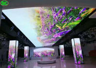HD Indoor / Outdoor LED Curtain Display , LED Curtain Video Wall For Centure Place