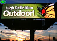 electronic outdoor led advertising signs smd2525 p6 outdoor  video LED display, led billboard 1/8 scaning