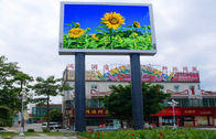 Outdoor HD Full Color RGB LED Display P10 IP65 Waterproof With 1/4 Drive Mode