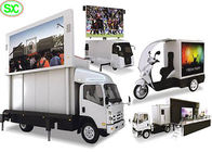 Outdoor Mobile Advertising Truck Mounted LED Screen P5 High Brightness 60Hz