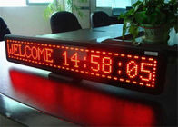 P6 F Single Color LED Display Digital LED Sign Full Color 6mm Pixels