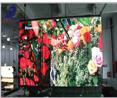P4 P5 P6 P7.62 Indoor Rental Led Screen Display Super Slim Die Casting Aluminum Cabinet