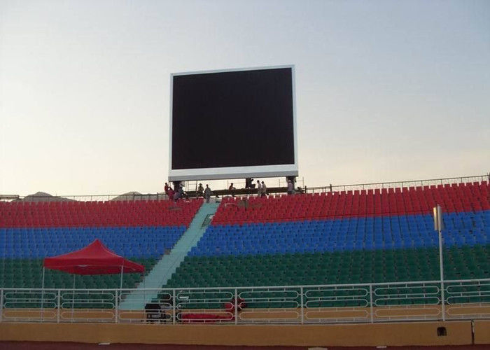 1R1G1B P8 Stadium LED Video Display Board , LED Perimeter Display Full Color