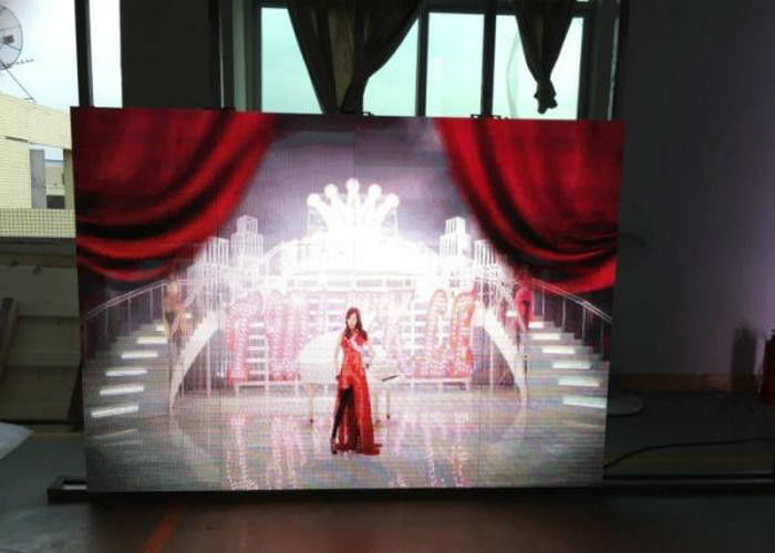 SMD3528 P6 Stage LED Screens Full Color For For Shopping Mall , Stable Performance