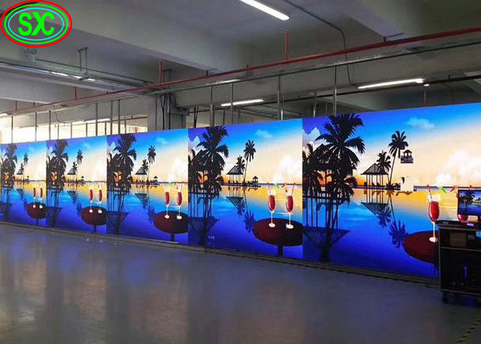 1500cd Brightness Rental LED Display P3.91/P4.81 High Resolution Video Wall Proejction