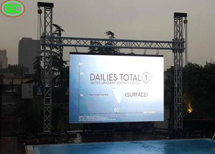 Rental Advertising LED Display Wall, P6 LED Screen For Commercial