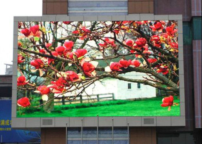 janpanse video function outdoor full color  p8  led display with 1/4scan