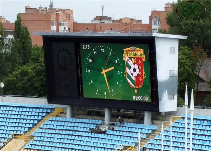 16mm x 16mm P10 Sports Stadium LED Display Advertising Field