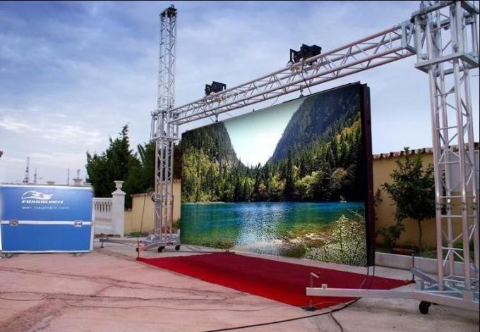 DIP Multi Screen RGB LED Display 1/4 Scanning Statium Full Color Outdoor with CE RoHS FCC CCC UL 8