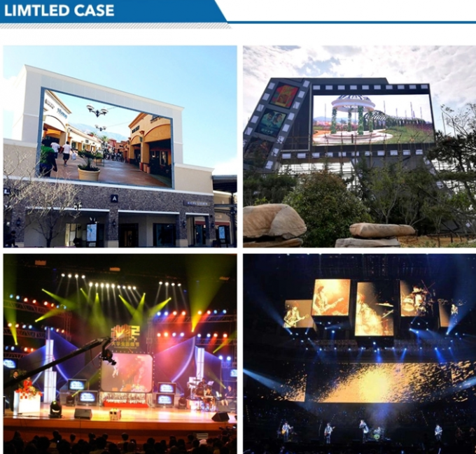 DIP Multi Screen RGB LED Display 1/4 Scanning Statium Full Color Outdoor with CE RoHS FCC CCC UL 0